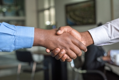 Franchise Opportunities - Partnership handshake